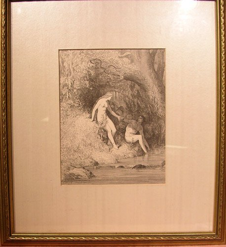 25009: Woodblock Print from Gustave Dore