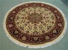 3197: Amazing Quality Round Pak Persian Rug 5x5