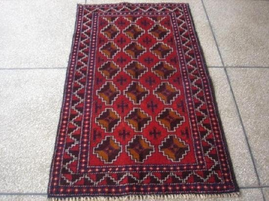 20001: Exotic S.Antique Persian Baloch Rug 5 x 3