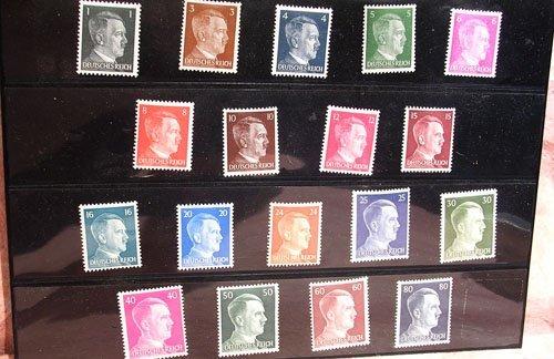 5116: 18 Hitler Stamps
