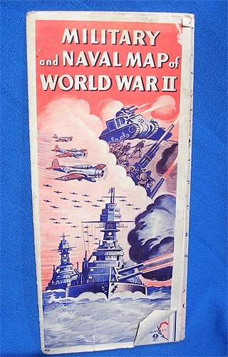 5120: Military and Naval Map of WWII