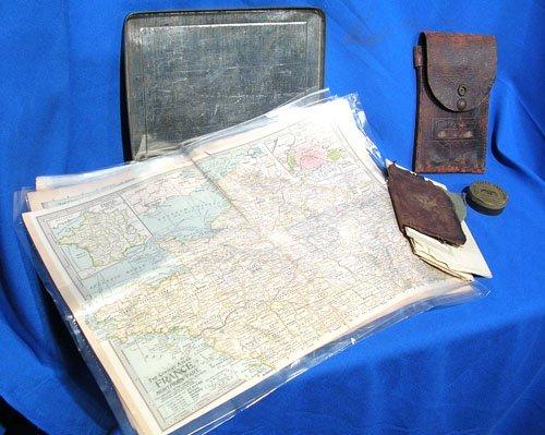 5122: World War I Keepsake Box of Captain Leslie Anders