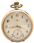 3237: Silver Swiss Omega Pocket Watch