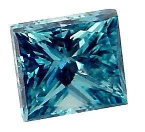 5080:  14KT VS-SI fancy 3/4ct blue diamond solitaire