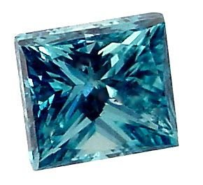 5080:  14KT VS-SI fancy 3/4ct blue diamond solitaire