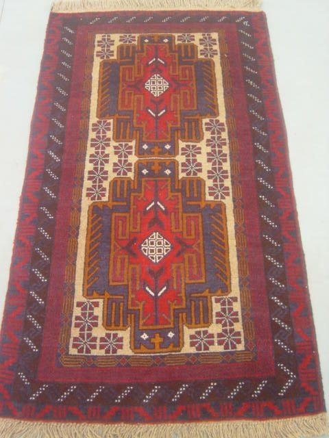 5010: Semi Antique Rugs Persian Herati Rug 5x3