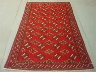 Semi Antique Rugs Persian Bokara Rug 6x4