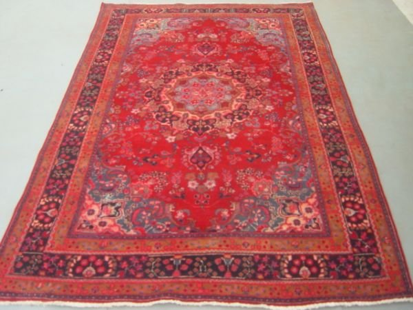 5014:   Unique Beauty Large Persian Mashad Carpet 10x6