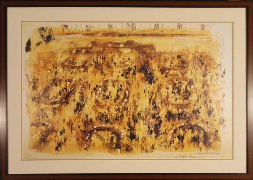 Stock Exchange by Leroy Nieman