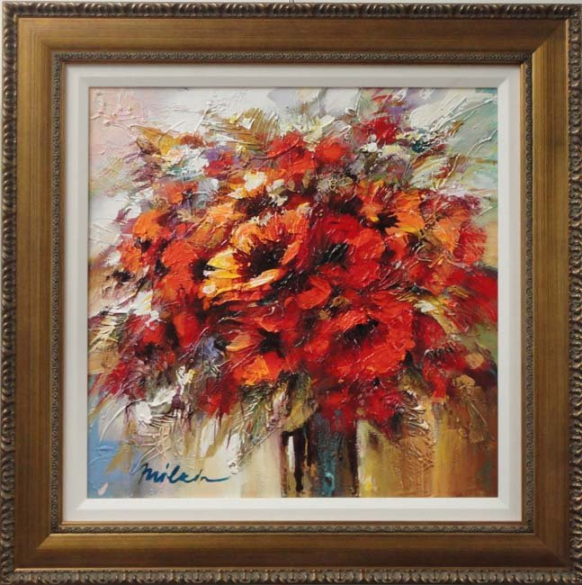 Vase of Flowers by Michael Milkin