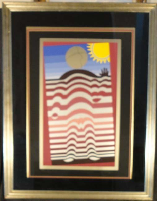 Extraterrestrial II by Victor Vasarely