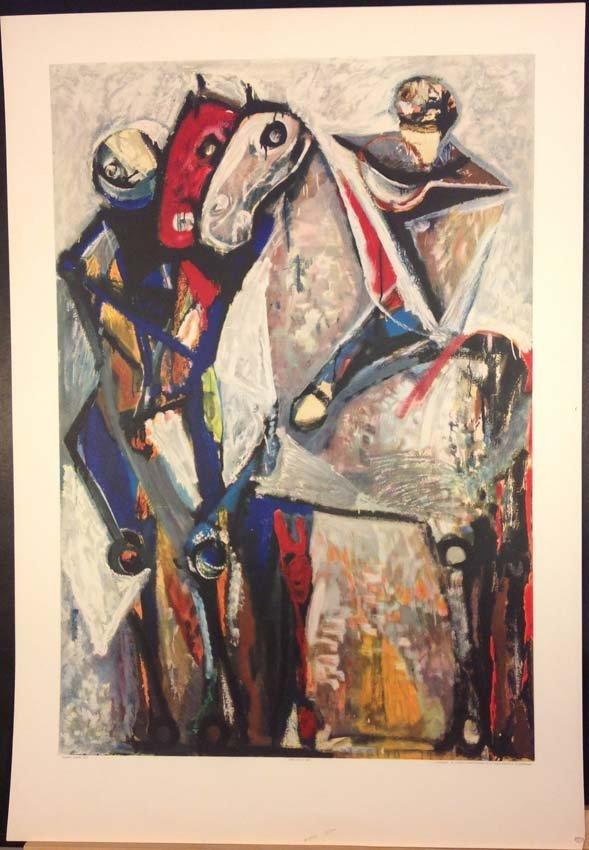 Zwei Reiter 1953 by Marino Marini