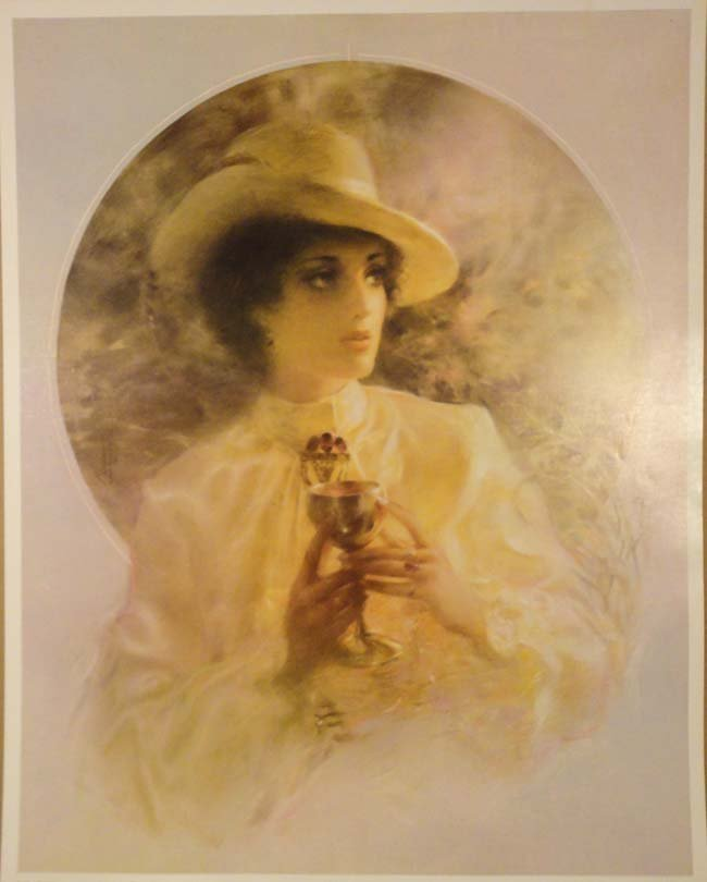 Woman Holding a Chalice by Maurry