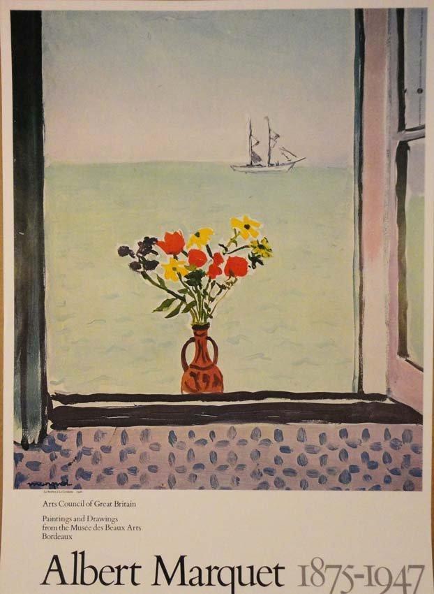 La fenêtre à La Goulette by Albert Marquet 1926