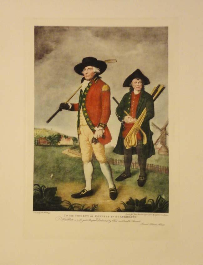 Vintage Golfing Scene by Lemuel Francis Abbott 1790