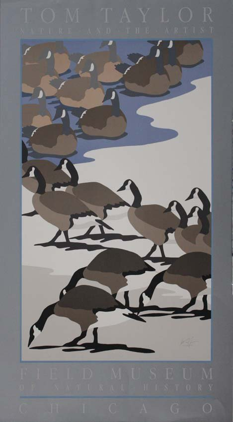 Tom Taylor Nature and the Artist Geese Poster