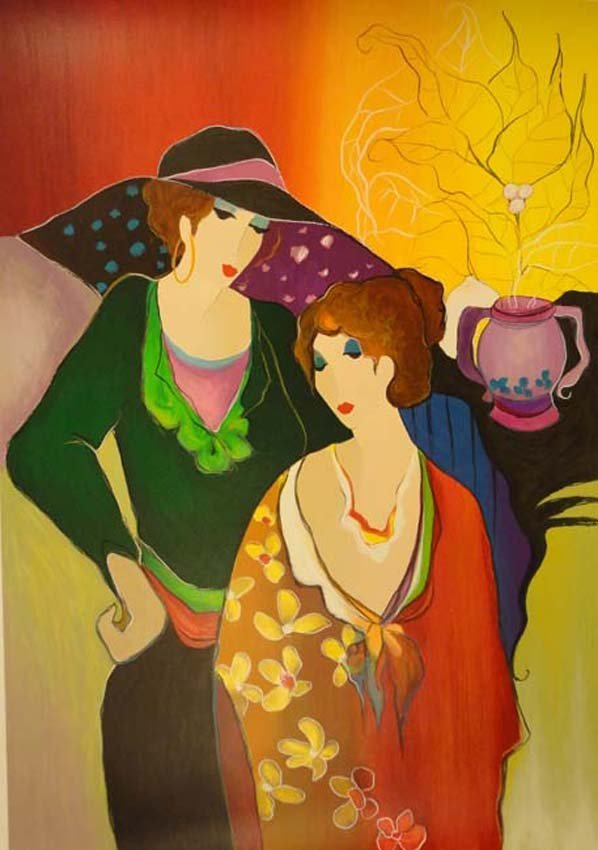 Fashionable Ladies by Tarkay