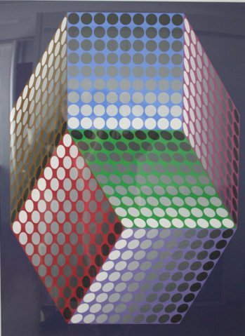 Untitled by Victor Vasarely