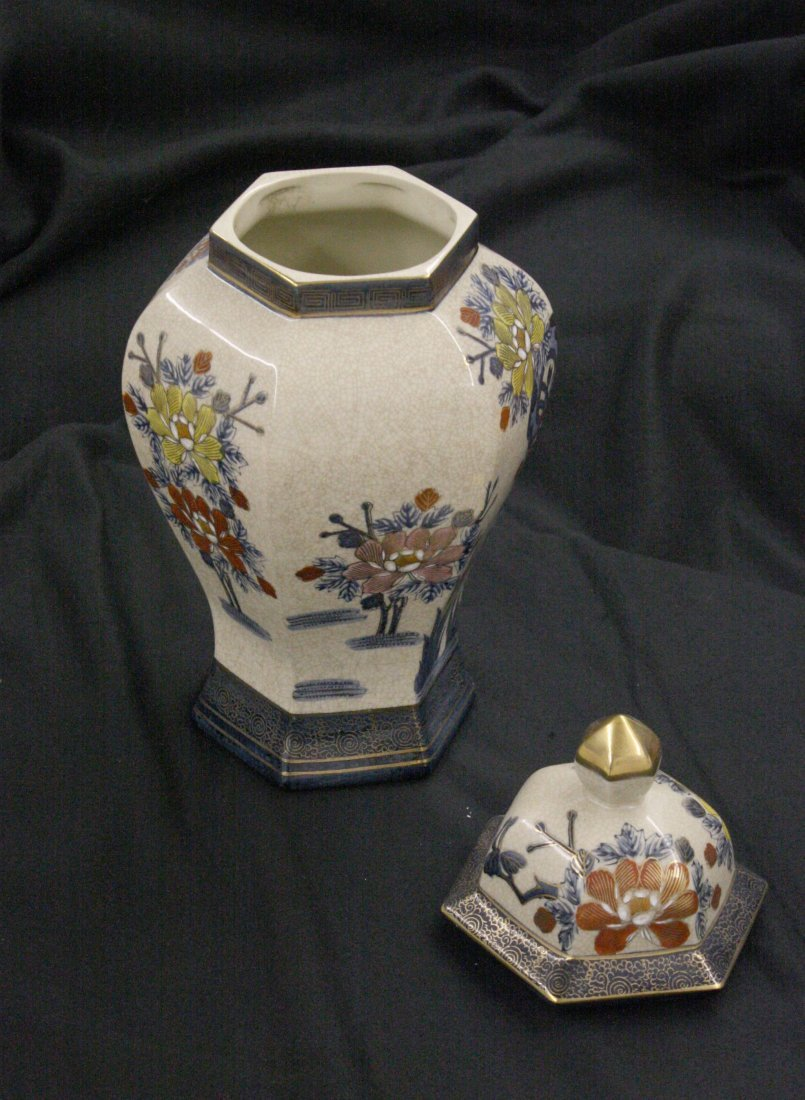 Japanese Urn II By Unknown - 2