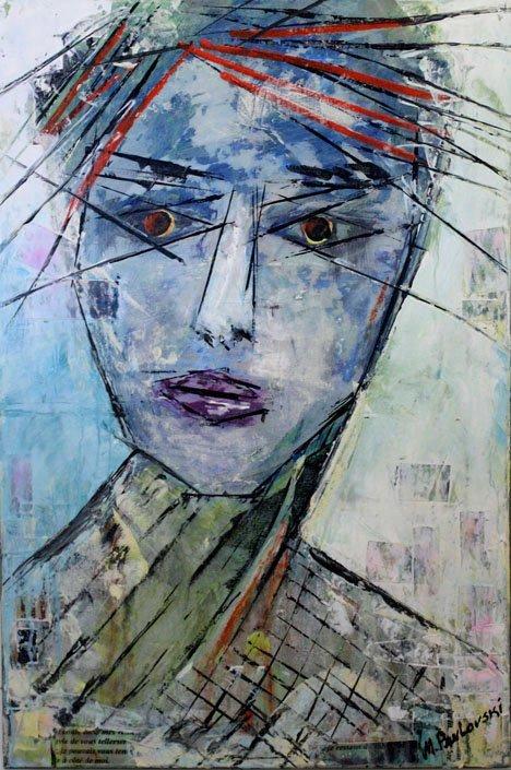 Mystery Face by Melissa Pavloski