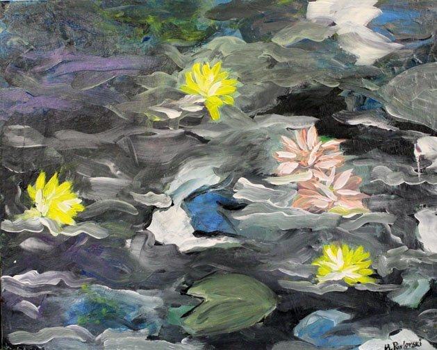 Lily Pads by Melissa Pavloski