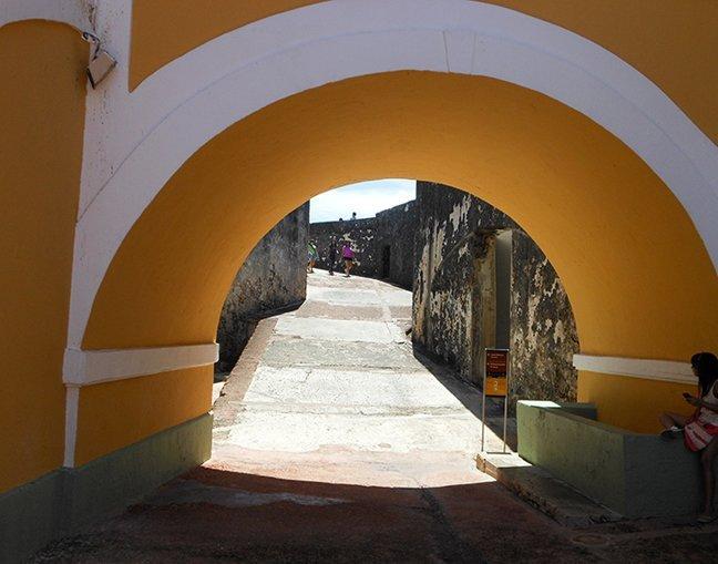 Castillo San Felipe Del Morrow II by Phil Gilchrist