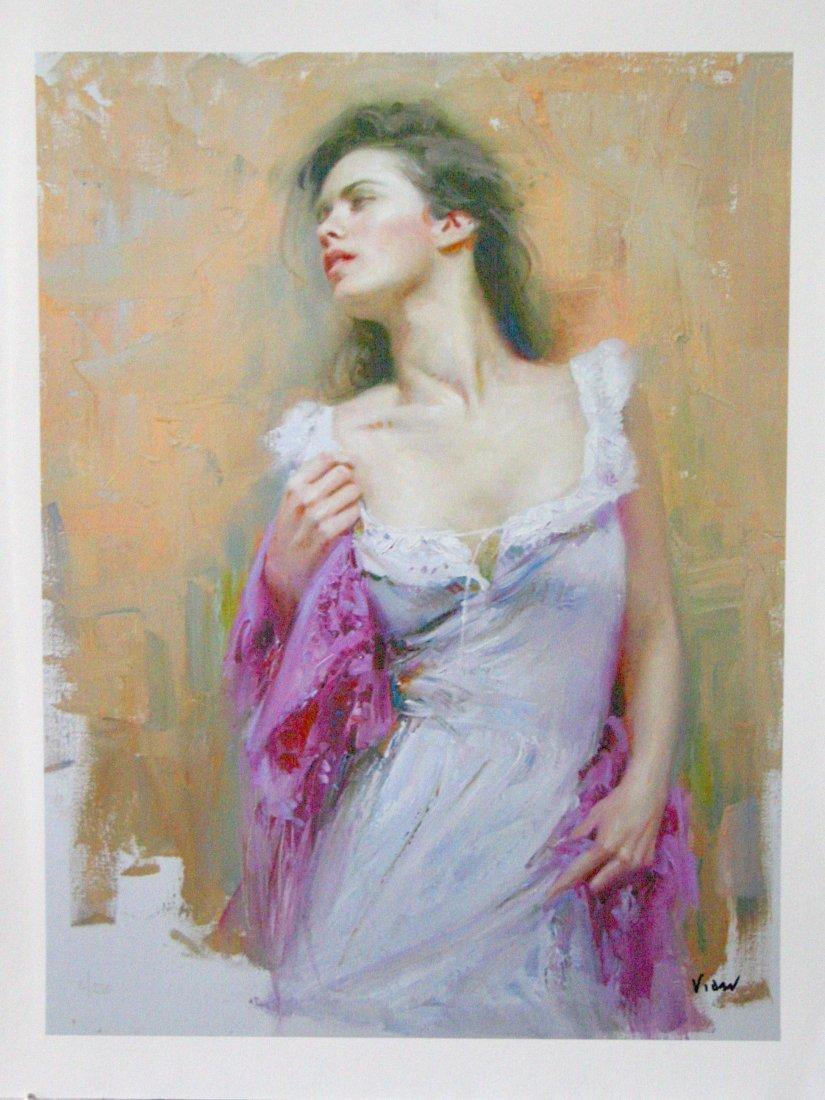 Portrait of a Woman by Vidan