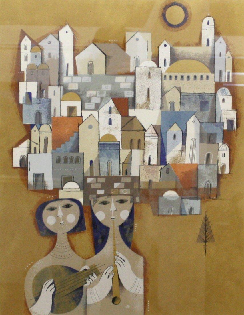 Two Ladies by Sami Briss