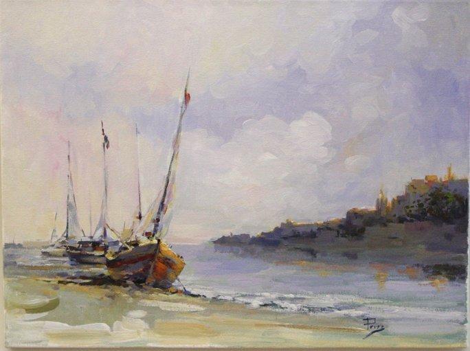 Soft light Boats by Alex Perez