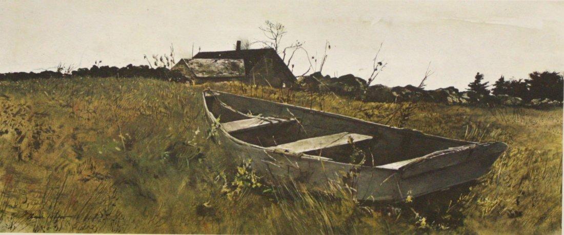 Teels Island by Andrew Wyeth