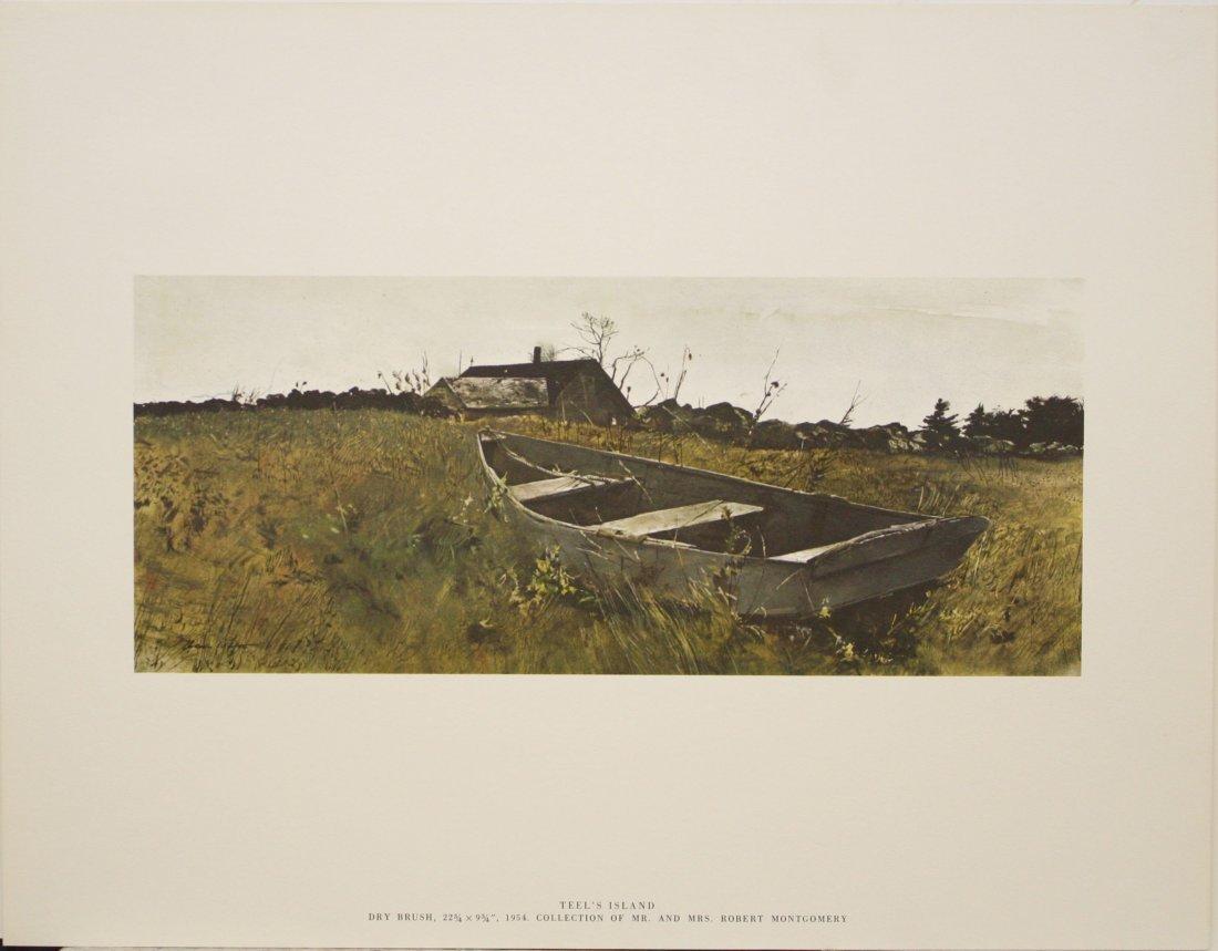 Teels Island by Andrew Wyeth - 2