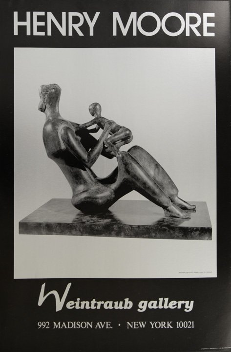 Mother and Child by Henry Moore