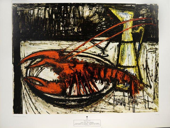 Still Life: The Lobster by Bernard Buffet