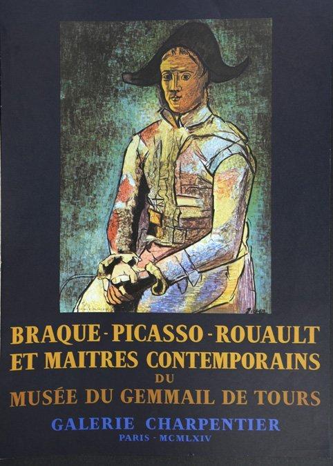 Braque, Picasso, & Roualt Exhibition Poster