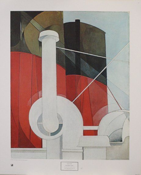 Paquebot Paris by Charles Demuth