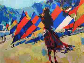 Sails by the Beach by Nicola Simbari
