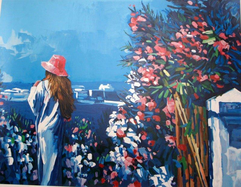 Le Jardin by Nicola Simbari