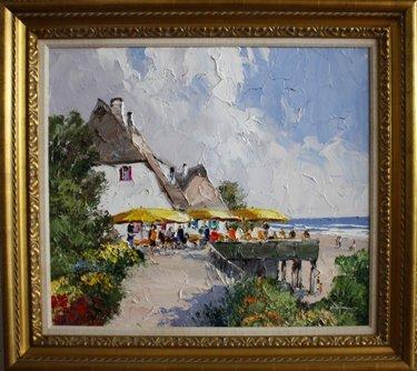 Port Scene by Erich Paulsen