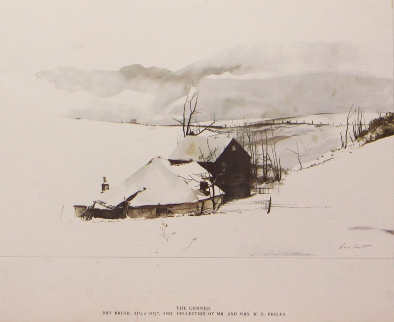 The Corner by Andrew Wyeth
