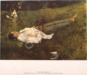 The Berry Picker by Andrew Wyeth