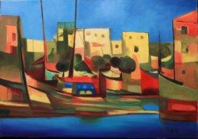 Port du Peche by Marcel Mouly