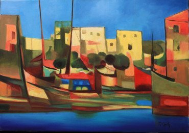 Port du Peche by Marcel Mouly