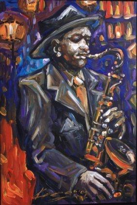 Jazz Man by Karchos