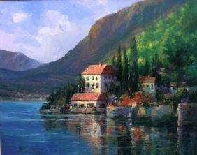 Lake Como View by Alex Perez