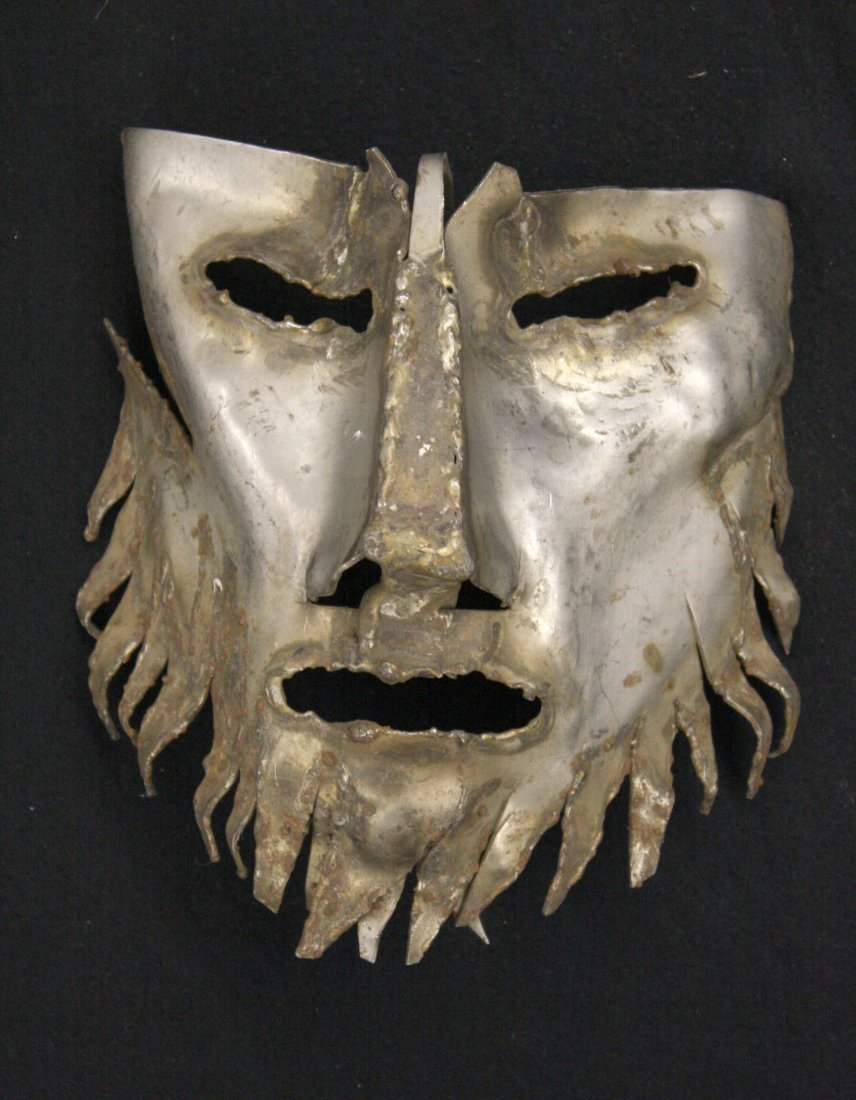 Bearded Mask (Small) by Marian Owczarski