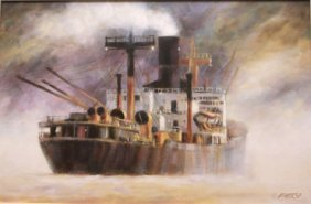Tramp Steamer by John Kelly