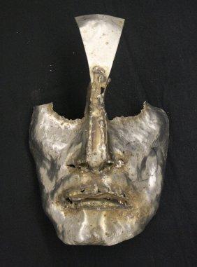 Carved Mask (Small) by Marian Owczarski