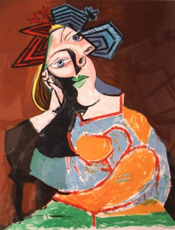 Woman by Pablo Picasso