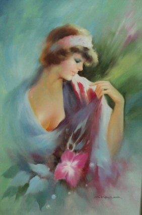 Woman by M.Keylor