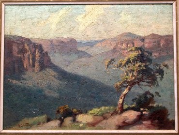 Valley of the Black Hills by S.E. Sutton